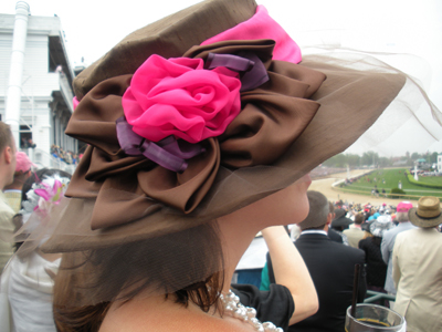 Custom Derby hat