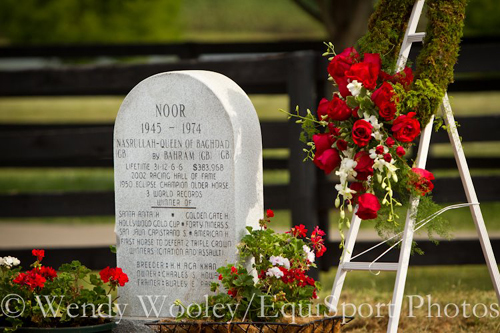 Noor - Old Friends Hall of Fame Cemetery
