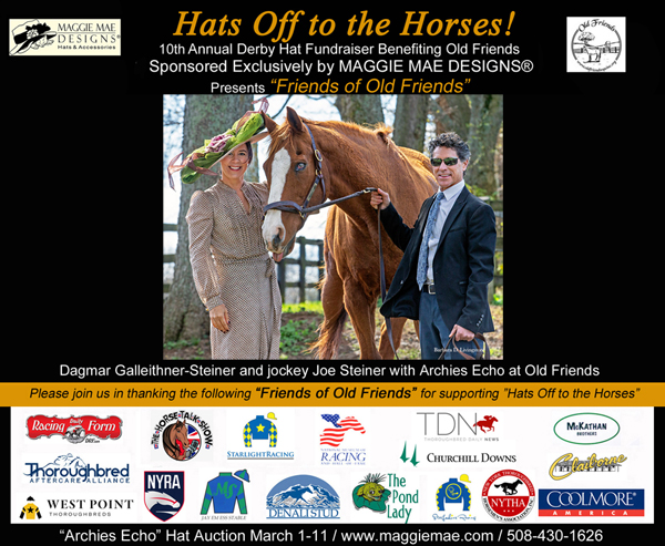 """Friends of Old Friends"" - ""Archies Echo"" Derby Hat Auction"