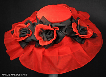 red Derby hats
