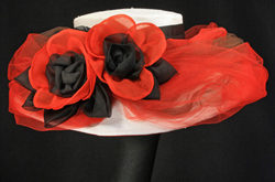 Poppy Der196-001  Derby hat