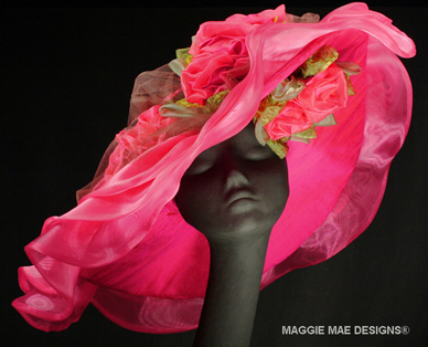 Custom ladies hats for Royal Ascot by MAGGIE MAE DESIGNS®