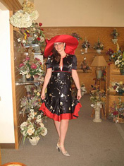 Kentucky Derby hats for women - Scarlett