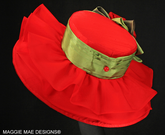 "The ""Hallie"" Hat from The Rosie Signature Hat Collection by MAGGIE MAE DESIGNS®"