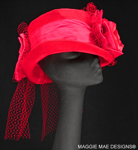 "The ""Teddy"" Hat from The Rosie Signature Hat Collection"
