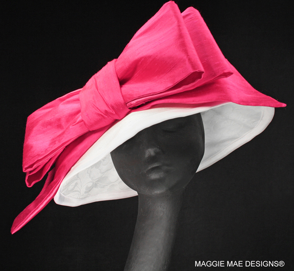"The ""Brooke"" Hat from The Rosie Signature Hat Collection by MAGGIE MAE DESIGNS®."