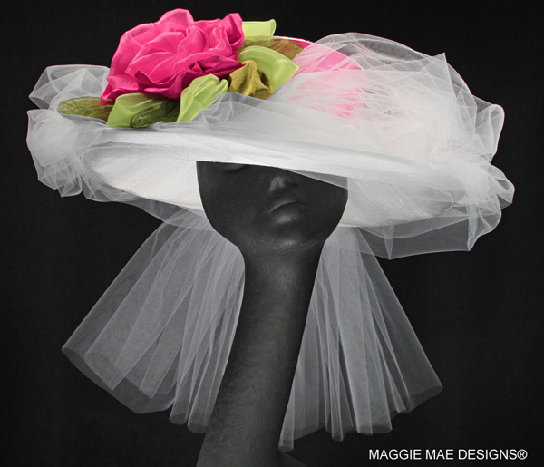 "The ""Rose Marie"" Hat from The Rosie Signature Hat Collection by MAGGIE MAE DESIGNS®"