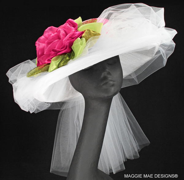 "The ""Rose Marie"" Hat from The Rosie Signature Hat Collection"