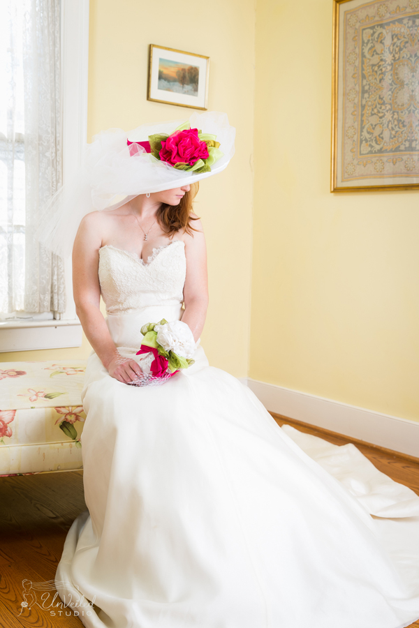 "Rosie Napravnik modeling the ""Rose Marie"" Chapeau by MAGGIE MAE DESIGNS® - Photo by Unveiled Studio"