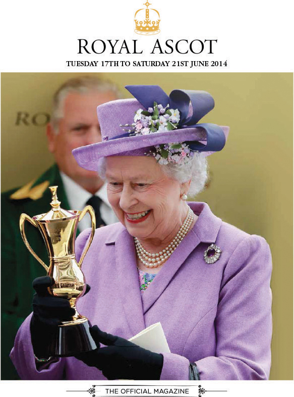 2013 Royal Ascot Magazine Cover