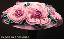 ladies' custom wedding hats