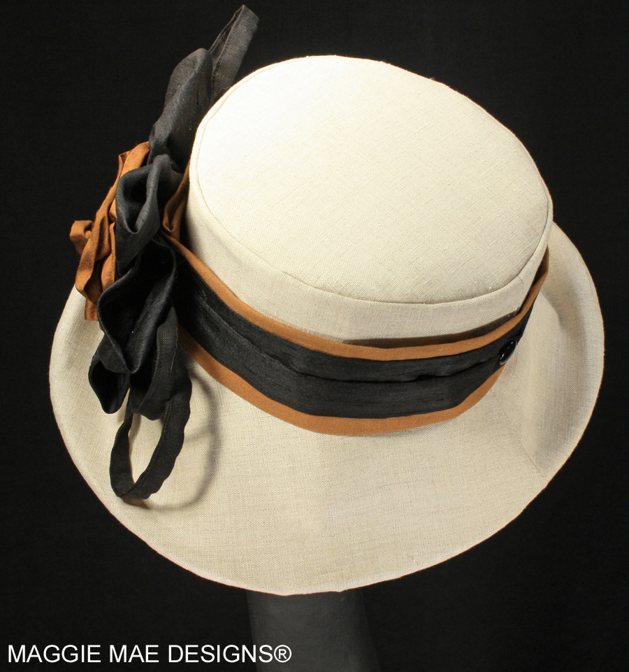 ladies' linen hats for Spring Summer