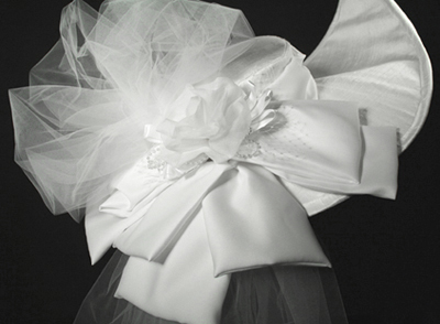 wedding millinery