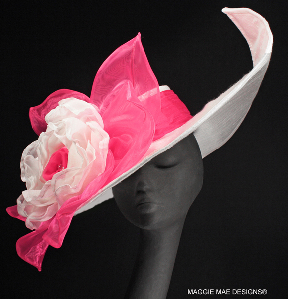 custom Derby hats, Kentucky Oaks hats