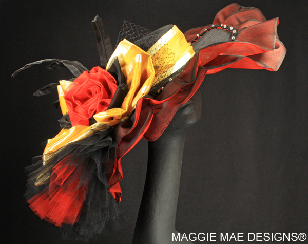Silk Derby hats for women