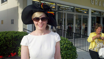 one of a kind Preakness hats