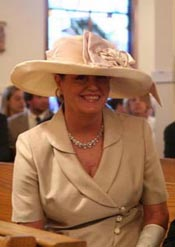 ladies' hats - Liza bridal