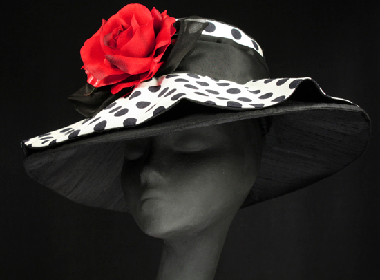 couture Derby hats