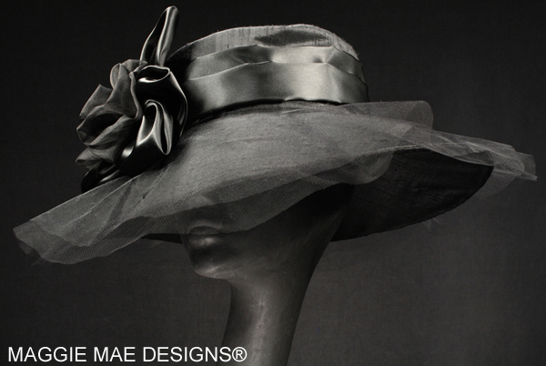 black silk hats for the Derby, Royal Ascot, and Breeders' Cup