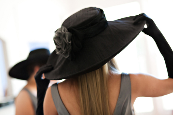 "The ""Stefanie"" Wedding Hat"