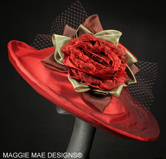 wide brim fancy hats for the Derby