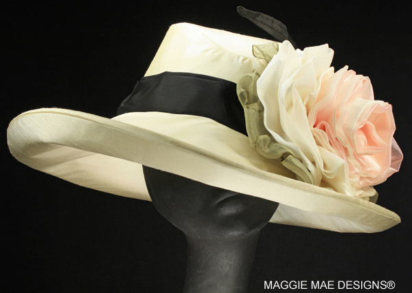 Sideny Der197-001 cream Derby hat