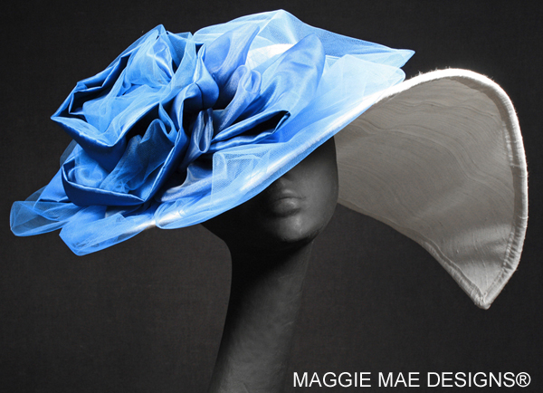 "The ""Tasha"" Derby hat by MAGGIE MAE DESIGNS featured on Galavante.com"