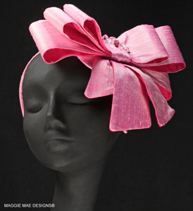 The Tiffany Bow -- in pink!