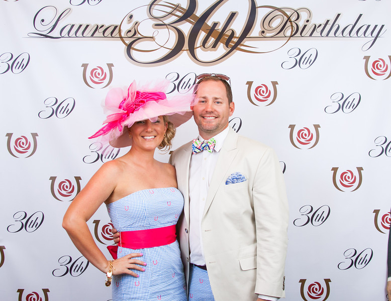 Tim and Laura - 139th Kentucky Derby
