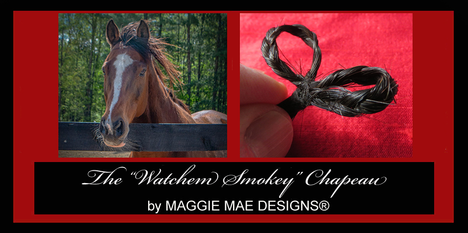 "The ""Watchem Smokey"" auction hat - ""Hats Off to the Horses"""