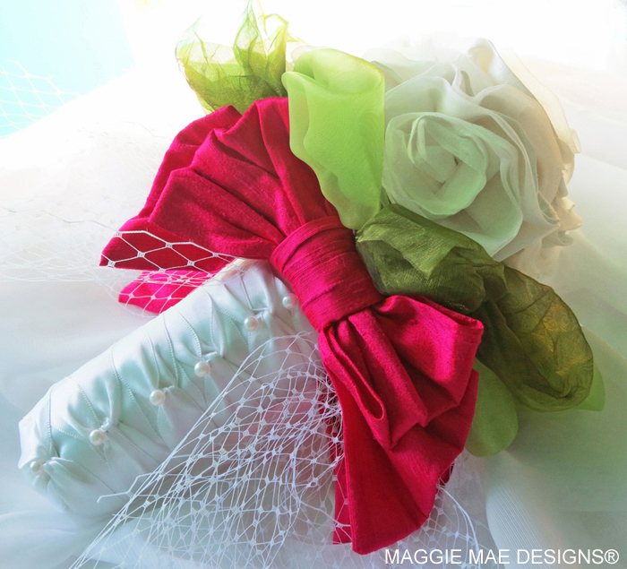 Custom wedding bouquets by MAGGIE MAE DESIGNS