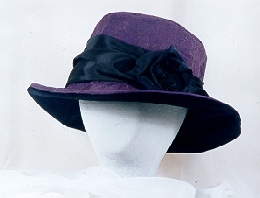 ladies' purple  hats