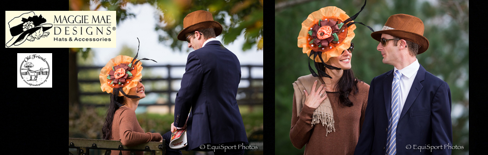 "The ""Clever Allmont"" Hat, ""Hats Off to the Horses"" of Old Friends - Annual Derby hat auction series sponsored by MAGGIE MAE DESIGNS®"