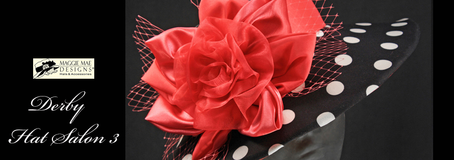 MAGGIE MAE DESIGNS® Custom Hats for Women -  Derby medium brim hats