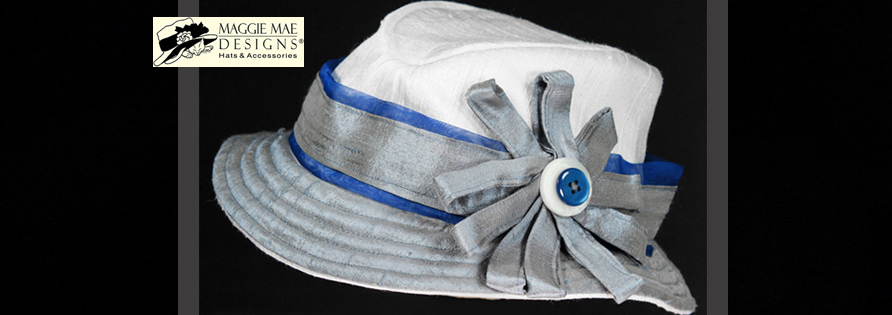 The Zachary Fedora Hat for Kids - from Little Silver Charm Kids' Hat Collection by MAGGIE MAE DESIGNS®