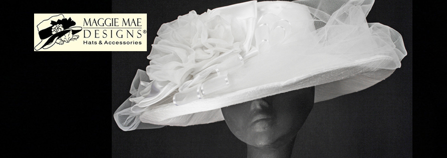 MAGGIE MAE DESIGNS® Custom Bridal Hats for Women -  image