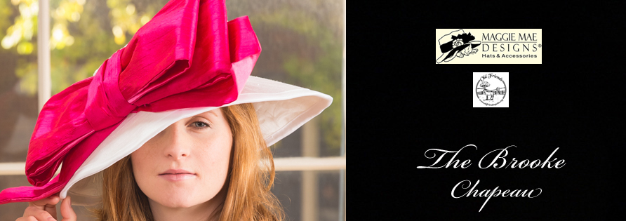 The Brooke Hat from the Rosie Signature Hat Collection for Old Friends by MAGGIE MAE DESIGNS® - photo by Unveiled Studio