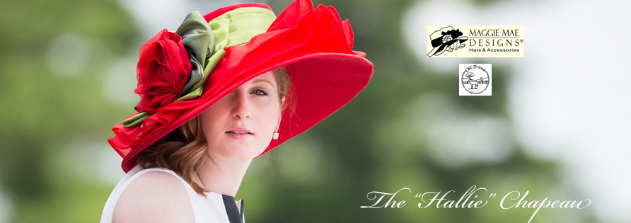 "The Rosie Signature Hat Collection - The ""Hallie"" Hat - photo by EquiSport Photos"
