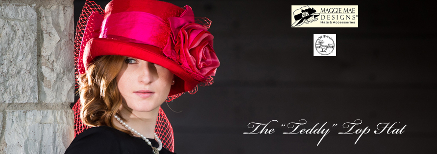 "The Rosie Signature Hat Collection - The ""Teddy"" Hat - photo by EquiSport Photos"