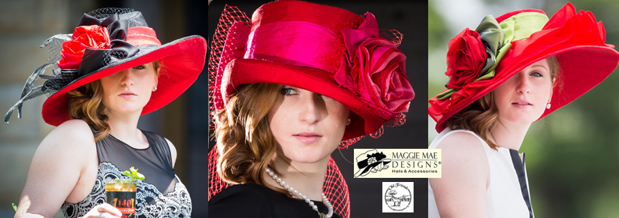 Rosie's Day at Keeneland - The Rosie Signature Hat Collection by MAGGIE MAE DESIGNS®