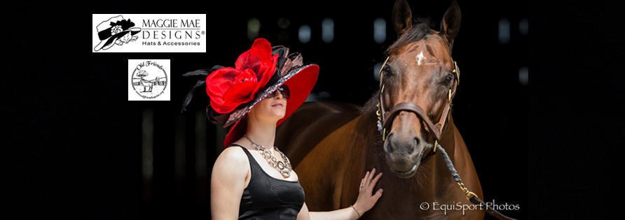 Custom hats for Saratoga at MAGGIE MAE DESIGNS®