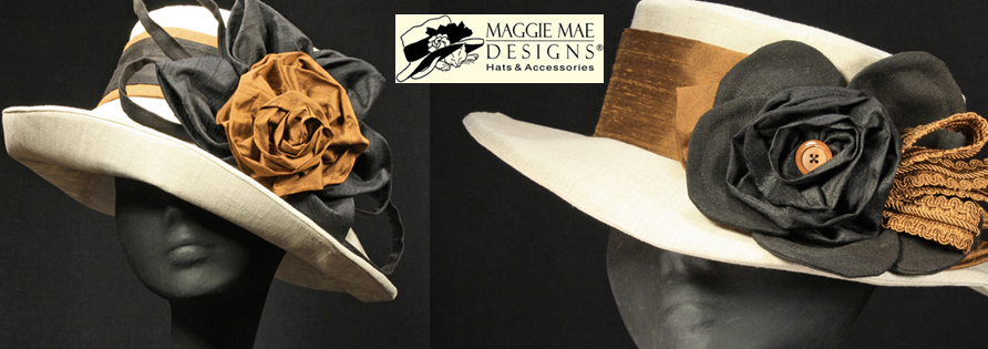 MAGGIE MAE DESIGNS® Custom Hats for Women -  Spring Summer hats