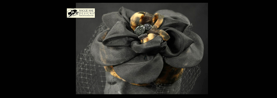 The Leopard Hat Collection by MAGGIE MAE DESIGNS® Custom Hats for Women -  image