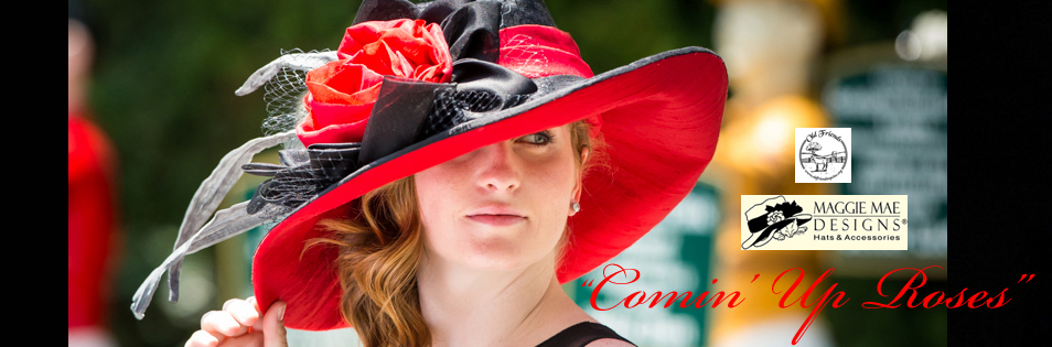 Ladies' Custom Derby Hats at MAGGIE MAE DESIGNS®