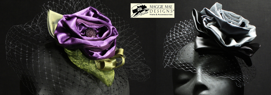 hair ornaments and hats at MAGGIE MAE DESIGNS® Custom Hats for Women -  image