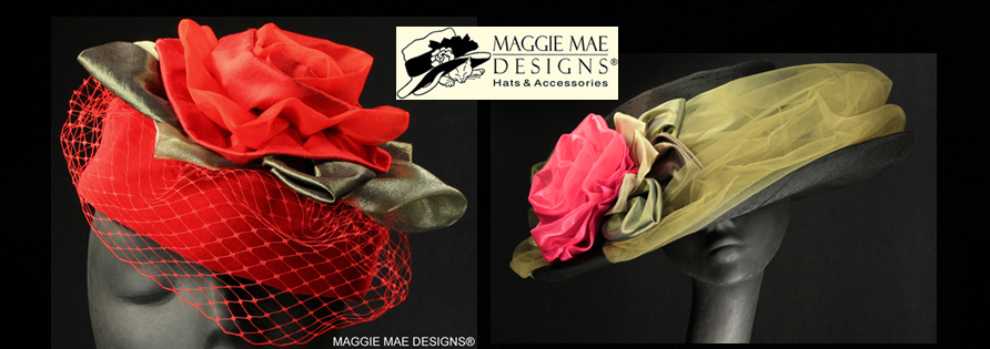MAGGIE MAE DESIGNS® Custom Hats for Women -  Holiday Hats