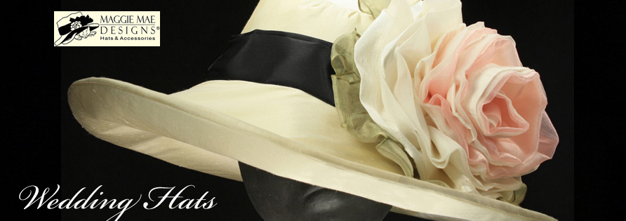 Wedding Hats at MAGGIE MAE DESIGNS®