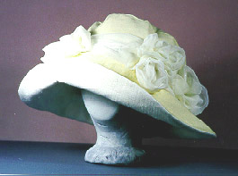 "one of a kind wedding hats-""Dozen Roses"""